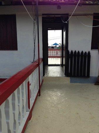 Casa de Yamilet Selva: Innenhof