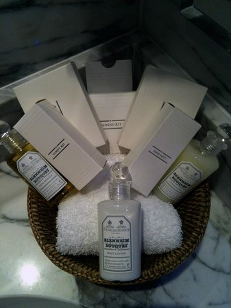 Hotel d'Angleterre: Toiletries