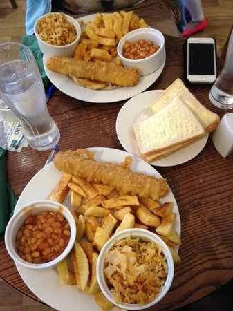 Oliver S Fish And Chip Restaurant Redcar