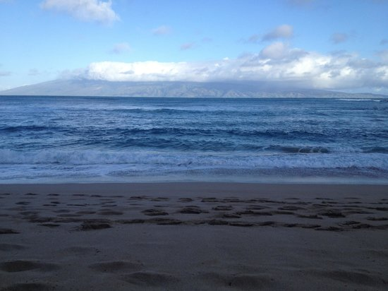 The Napili Bay: View in front of unit