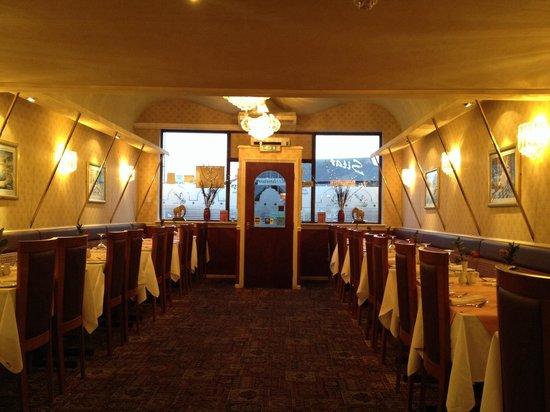Sitar Tandoori Restaurant: Inside the sitar
