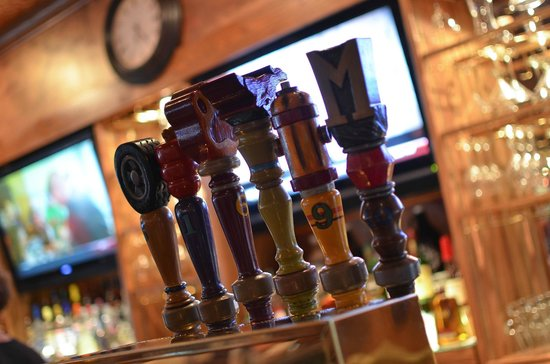 Marley's Brewery and Grille: Hand Crafted Tap Handles