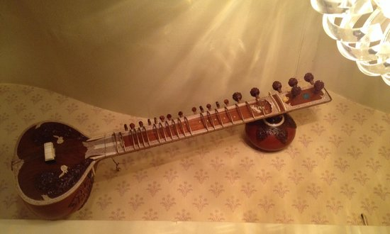 Sitar Tandoori Restaurant: The original sitar instrument