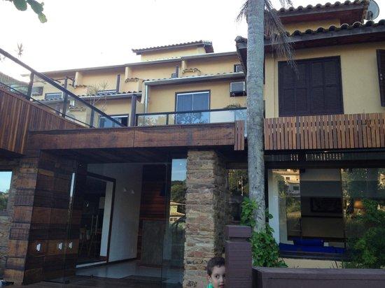 Barra da Lagoa Hotel : frontis del hotel