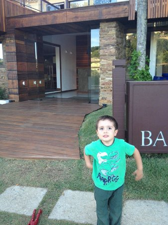 Barra da Lagoa Hotel : entrada