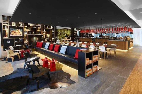 citizenM Rotterdam: Hall