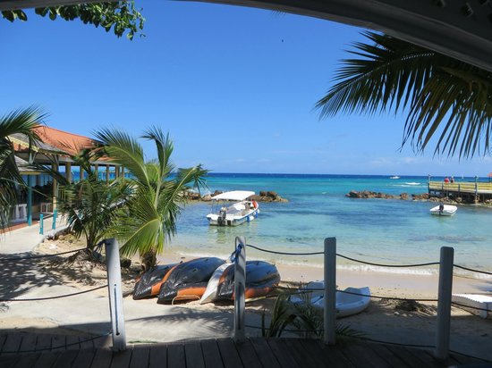 Franklyn D. Resort: Relax on your deck in room #38 with this view!