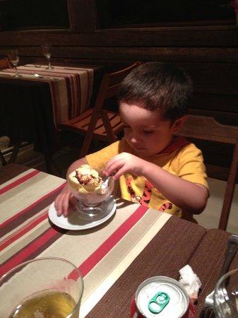 Barra da Lagoa Hotel : Comedor
