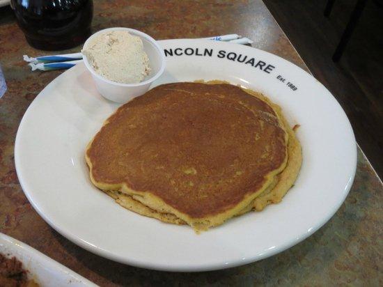Lincoln Square Pancake House: Pumpkin cakes