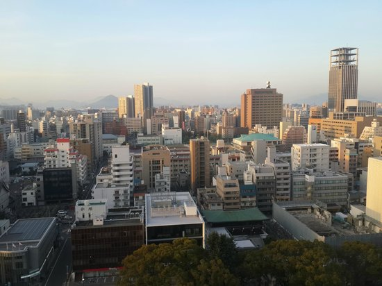 Mitsui Garden Hotel Hiroshima : View from my room