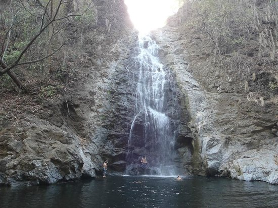The tallest of the Montezuma Falls