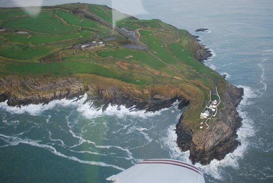 Old Head Golf Links: Fly over old head of kin sale