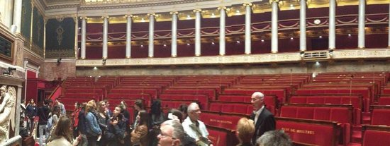 Assemblee Nationale: The debate chamber