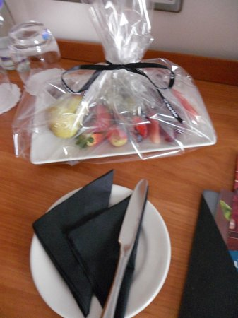 Jurys Inn Middlesbrough: my plate of fruit