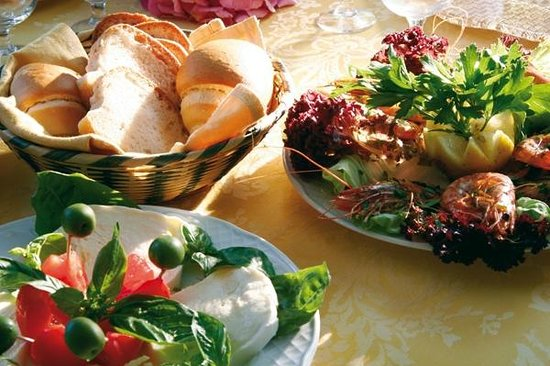 Hotel San Francesco: Gastronomia