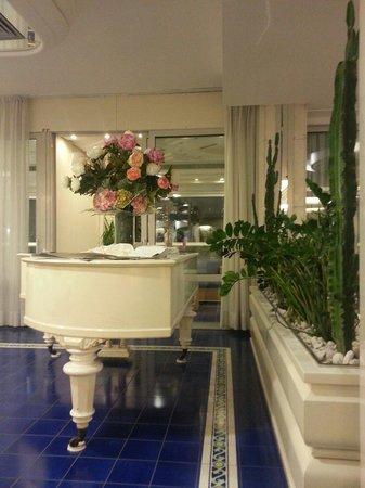 Atlantic Hotel Riccione: Un angolo relax del grande soggiorno per gli Ospiti