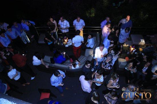 El Gusto: Outside Lounge