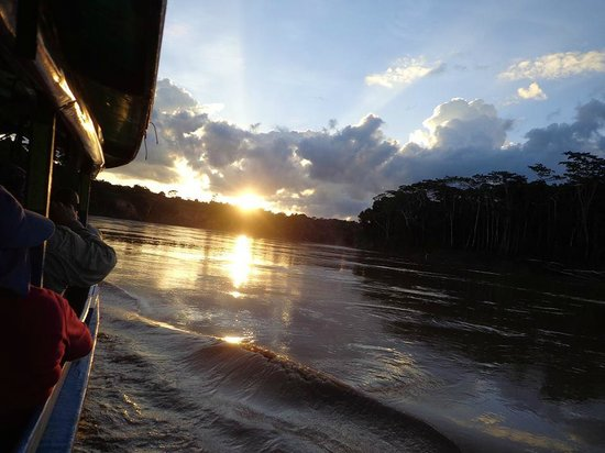 Cultural Immersion Day Tours: Amazon River Sunset