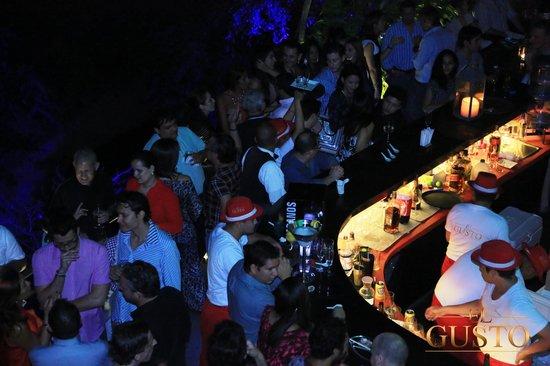 El Gusto: Outside Bar
