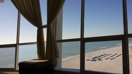 Grand Plaza Beachfront Resort Hotel & Conference Center: Penthouse view!  Breathtaking!
