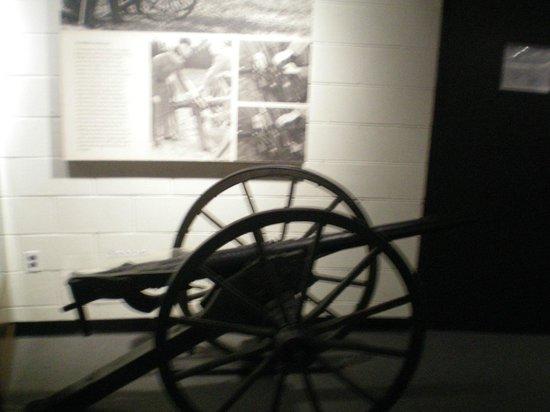 Virginia Museum of the Civil War: 1 of 2 remaining machine guns of the period
