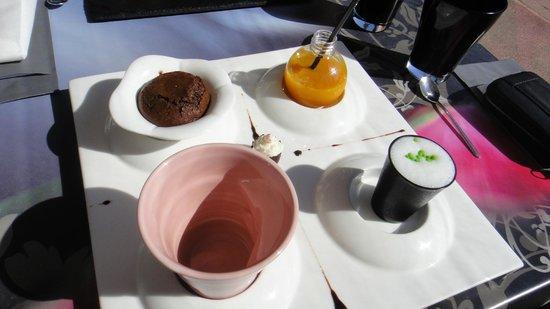 OSE : thé gourmand :)