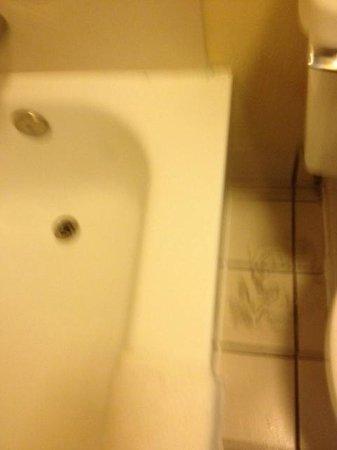 Quality Inn Miami Airport Hotel: desperfectos baño