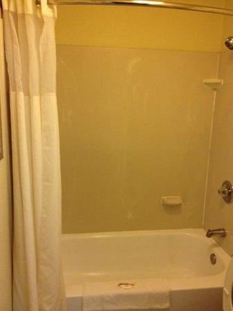 Quality Inn Miami Airport Hotel: baño con desperfectos