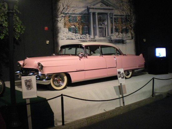 Graceland: One of Elvis's cars