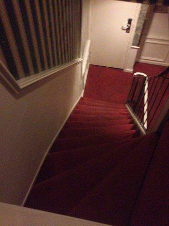 Rembrandtplein Hotel : Scale ripide