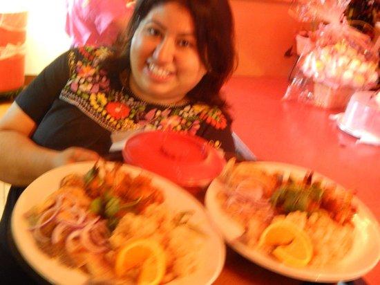 El Ranchito Michoacano: Dinner is ready!