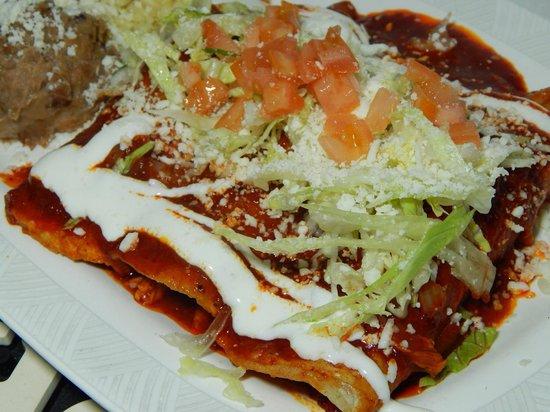 El Ranchito Michoacano: Enchiladas