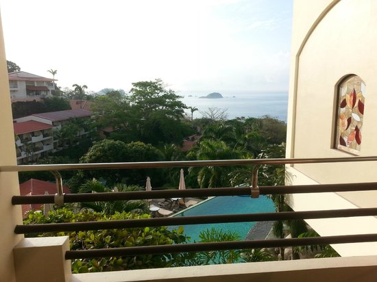 Parador Resort and Spa: View from our room inthe suites building