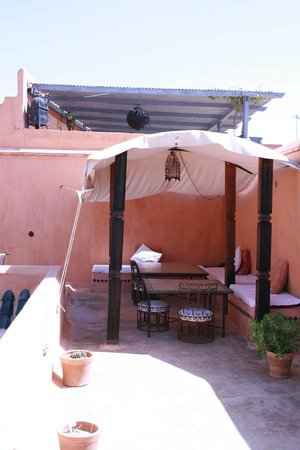 Riad Jmya : Terrasse