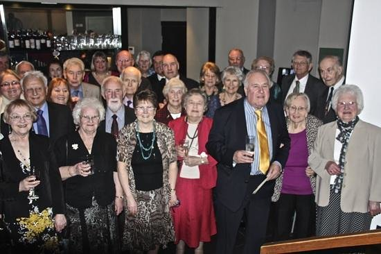 The White Hart : some of the partygoers
