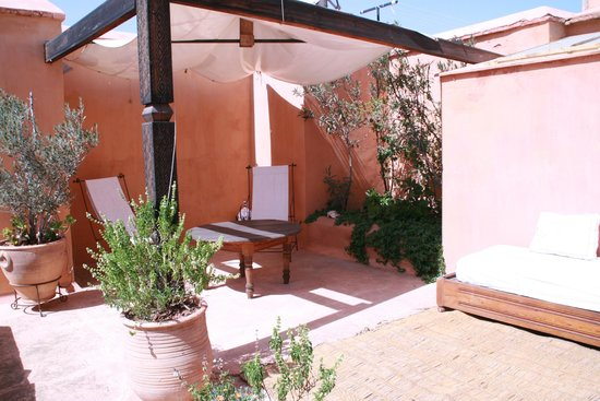 Riad Jmya : Terrasse appartement Douria