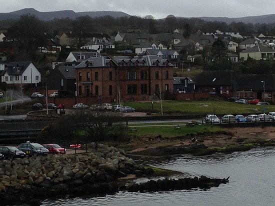 The Douglas Hotel: View from the Ferry