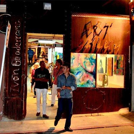 Gallery District San Jose del Cabo Art Walk: Ivan Guadarrama Art Gallery