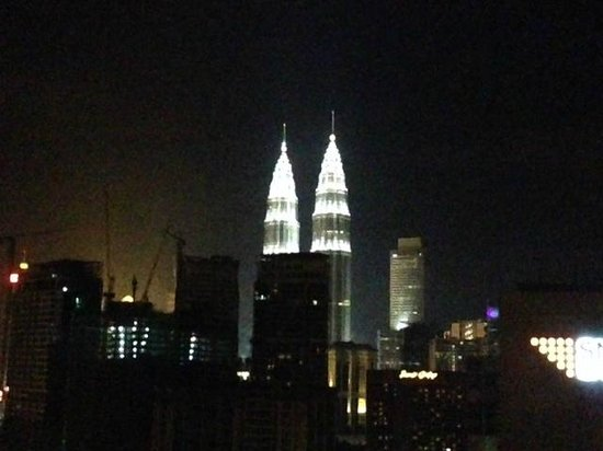 Sheraton Imperial Kuala Lumpur Hotel : Beautiful view and definitely worth the extra money