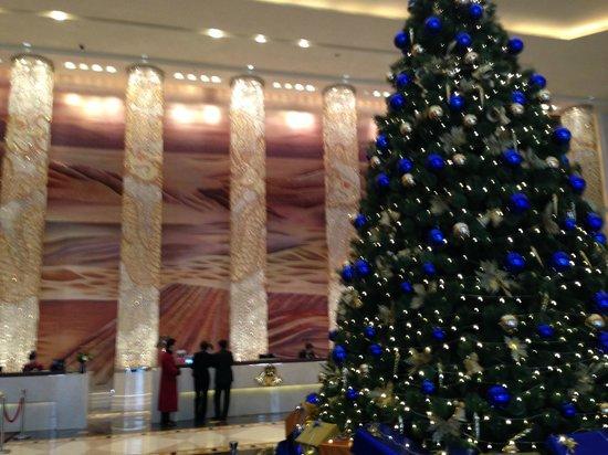 Wanda Vista Shenyang: クリスマスのロビー
