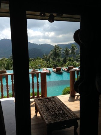 Santhiya Koh Phangan Resort & Spa : our room view