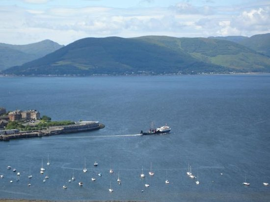 The Firth of Clyde from Lyle Hill