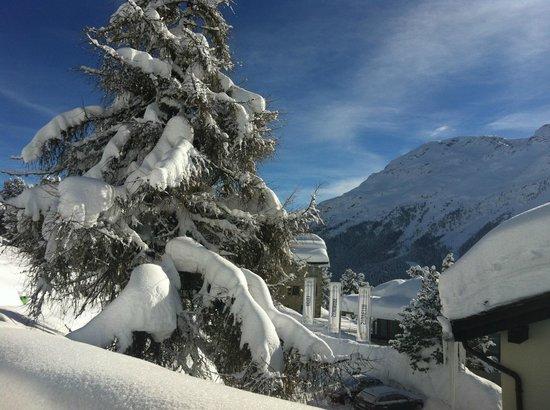 Berghotel Randolins: So much snow!!
