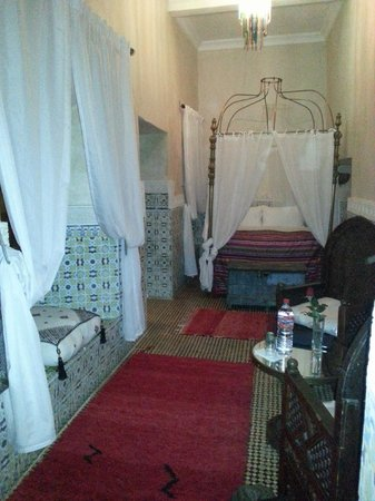 Riad Yamina : my groundfloor bedroom