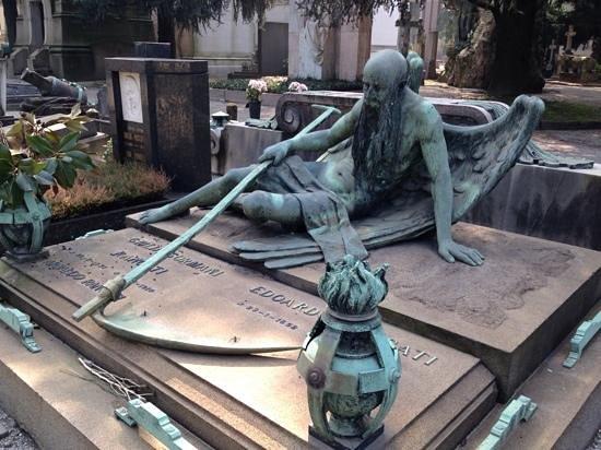 Cimetière Monumental : монументальные могилы