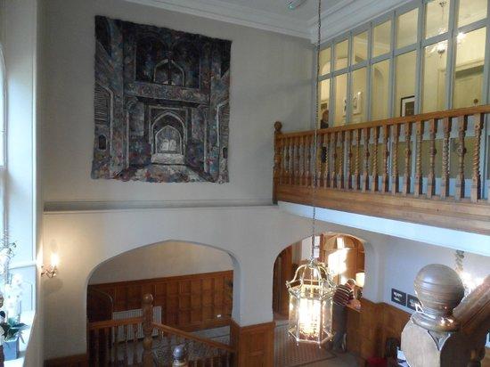 Hartsfield Manor, Betchworth: Main stairwell view 2