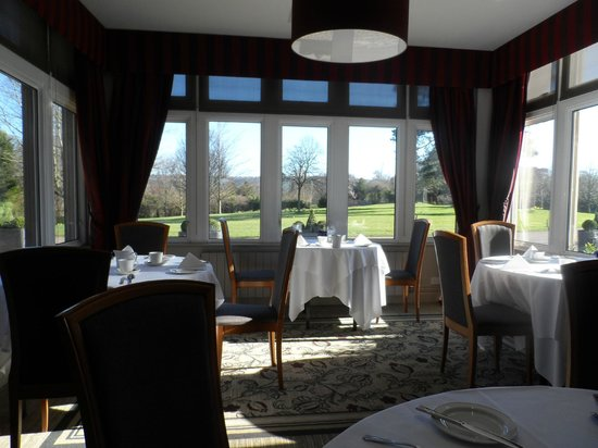 Hartsfield Manor, Betchworth: One view from the dining room