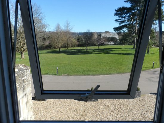 Hartsfield Manor, Betchworth: View from one of our bedroom front windows