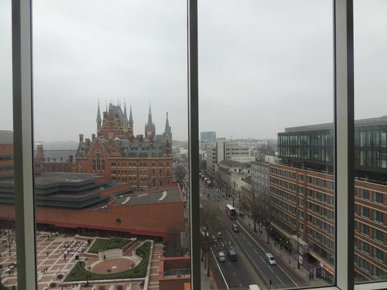 Pullman London St Pancras Hotel View From My Room Floor