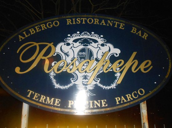 Terme Rosapepe: logo